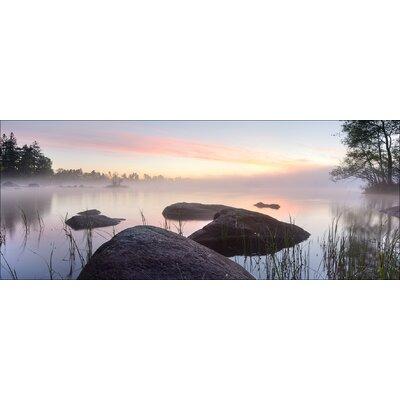 Pro-Art Glasbild Morning Mist, Kunstdruck