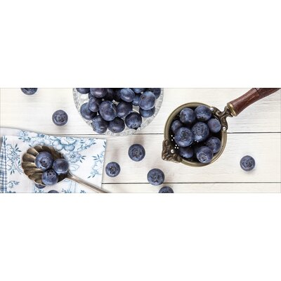 Pro-Art Glasbild Blueberries II, Kunstdruck