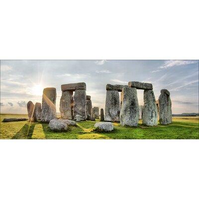 Pro-Art Glasbild Stonehenge, Kunstdruck