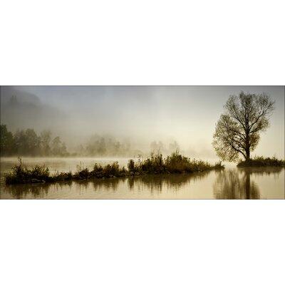 Pro-Art Glasbild Silent Lake, Kunstdruck