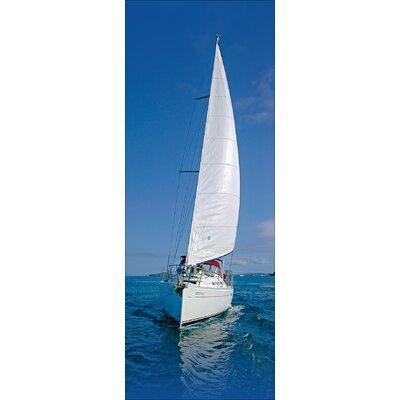 Pro-Art Glasbild Sailing Trip IV, Kunstdruck