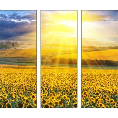 Pro-Art Glasbild In The Summer, Kunstdruck