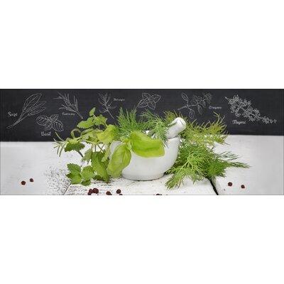 Pro-Art Glasbild Kräutermix, Kunstdruck
