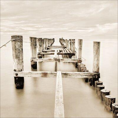 Pro-Art Glasbild Magic Beach, Kunstdruck