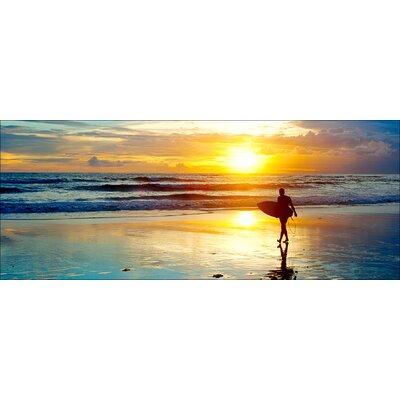 Pro-Art Glasbild Surfin ' III, Kunstdruck