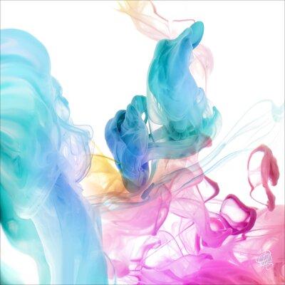 Pro-Art Glasbild Colour Your Life III, Kunstdruck