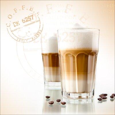 Pro-Art Glasbild Coffee Break V, Kunstdruck