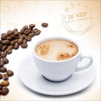 Pro-Art Glasbild Coffee Break VI, Kunstdruck
