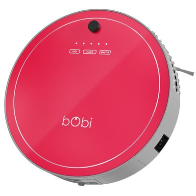 bObi Pet Robotic Vacuum Cleaner Color: Scarlet