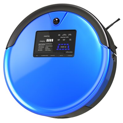 PetHair Plus Bagless Robotic Vacuum Color: Cobalt