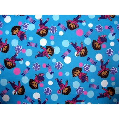 Dora Fitted Cradle Sheet