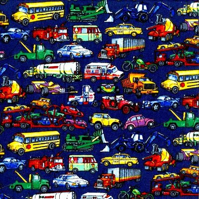 Vehicles Galore Fitted Cradle Sheet