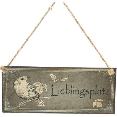 dio Only for You Wanddekoration Lieblingsplatz