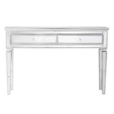 Elosie Mirrored Console Table