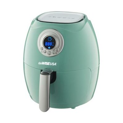 Digital Air Fryer with Recipe Book Color: Mint