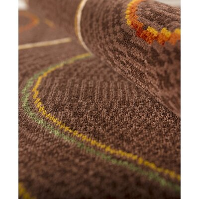 Hispania Alfombras Coimbra Brown Area Rug