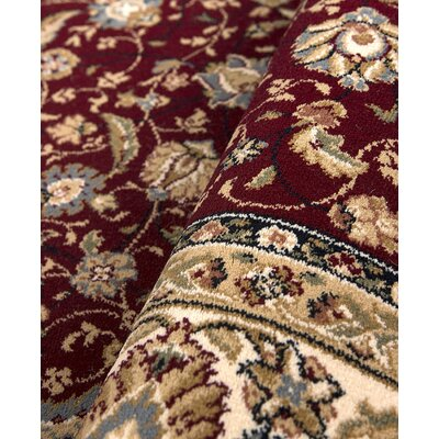 Hispania Alfombras Dante Red Area Rug