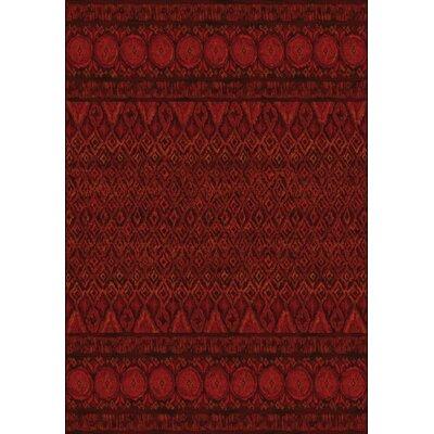 Hispania Alfombras Tanger Dark Red Area Rug