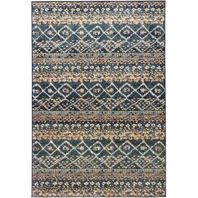 Hispania Alfombras Versalles Blue/Brown Area Rug