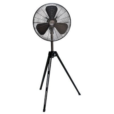 "Retro 16"" Oscillating Floor Fan"
