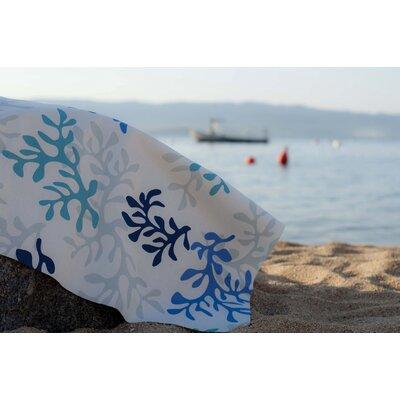 Fleur De Soleil Coral Tablecloth