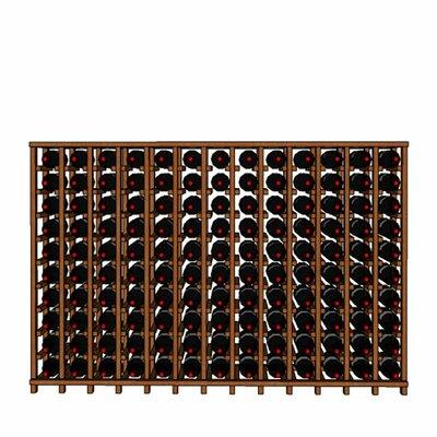 Premium Cellar Series 130 Bottle Floor Wine Rack Finish: Oak