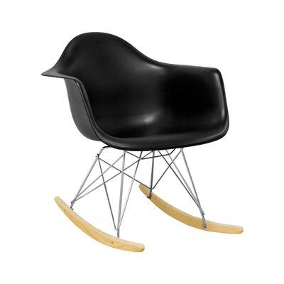 Paris Tower Rocking Chair Color: Black