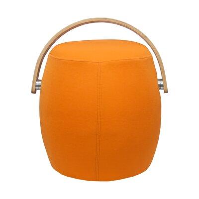Jeremiah Bucket Garden Stool Color: Orange