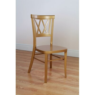 Benkel Seating Double X Stackable Side Chair