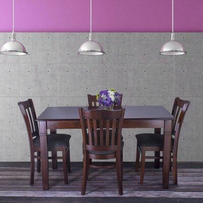 Gorney 5 Piece Dining Set Color: Medium Oak