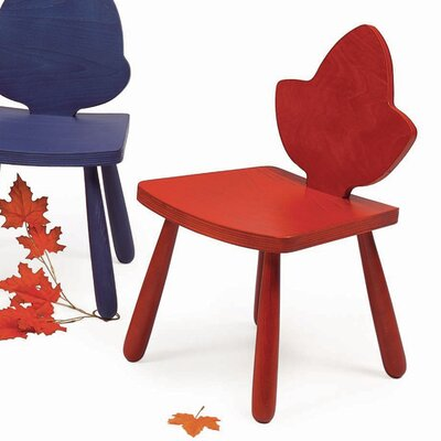 """Leaf Currant Kids Novelty Chair Color: Red, Size: 25"""" H x 15"""" W x 15"""" D"""