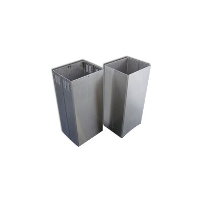 Range Hood Chimney Extension Size: 144""