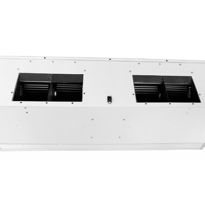 "54"" 2000 CFM Ducted Under Cabinet Range Hood Blower Direction: Top"