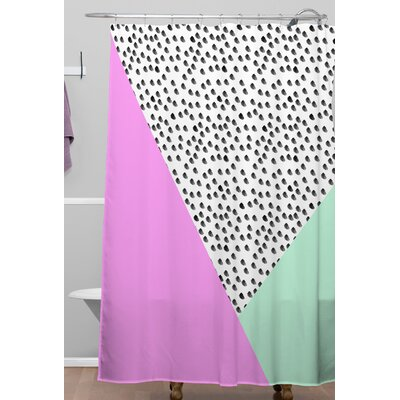 Spotted Modern Shower Curtain
