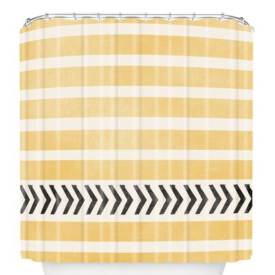 Stripes and Arrows Shower Curtain