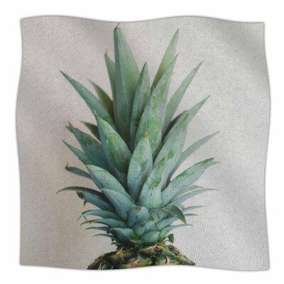 'The Pineapple' By Chelsea Victoria Fleece Baby Blanket