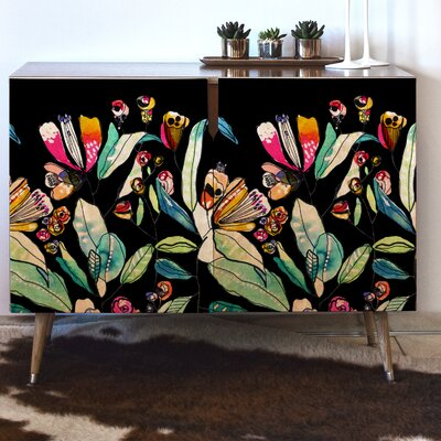Wildflowers Accent Cabinet