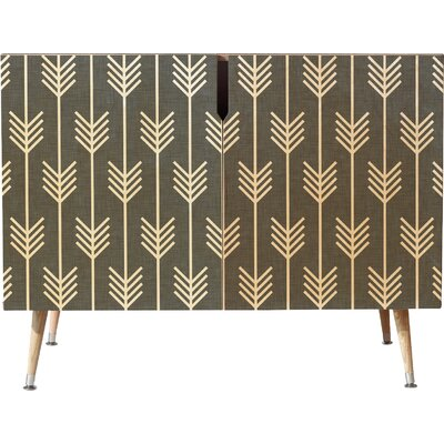 Arrows Accent Cabinet