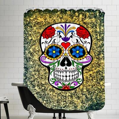 Horror Skull Shower Curtain