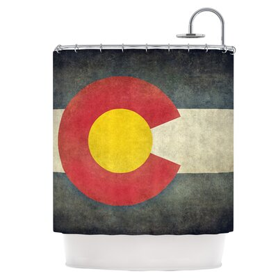 State Flag of Colorado Shower Curtain