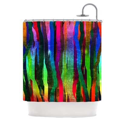 Stripes II Shower Curtain