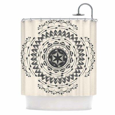 Tribe Mandala Shower Curtain