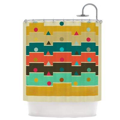 Modern Graphics Shower Curtain