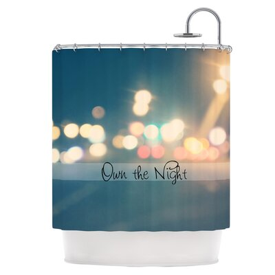 Own the Night Shower Curtain