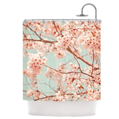 Blossoms All Over Shower Curtain