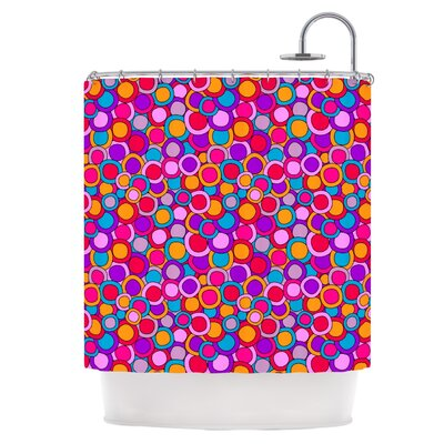 Colourful Circles Shower Curtain