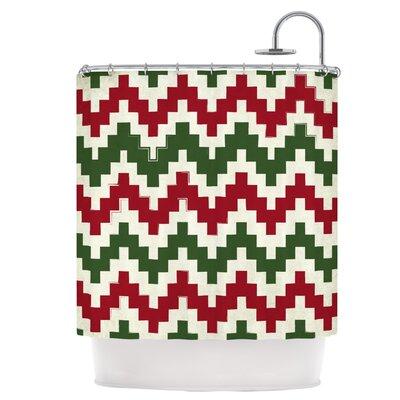 Christmas Gram Shower Curtain