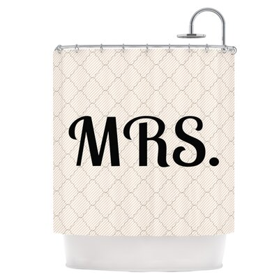 East Urban Home MRS Shower Curtain