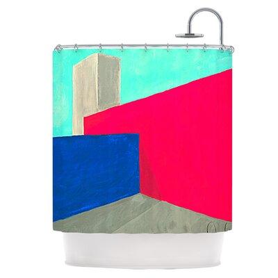 Corner Shower Curtain