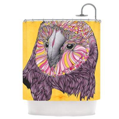 East Urban Home Owl Shower Curtain